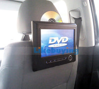 Wholesale 9 inch Car DVD Headrest DVD Player with digital screen support P Video playing Bit games