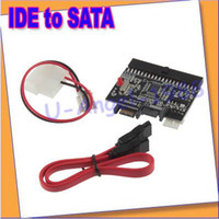 Wholesale IDE to SATA Serial ATA Bilateral HDD Adapter Converter security safety CL815