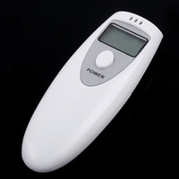 Wholesale 2013 Newest Mini LCD Digital Breath Alcohol Tester Portable Breathalyzer Digital Analyzer LCD Alcohol Breath Analyzer