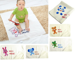 Wholesale Children s blankets Mats Nursery Bedding bath Towels Robes quilt urinal pad Swaddling baby sheet Blanket L102