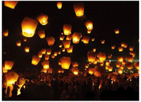 flying chinese lanterns - Sky lantern Wishing Wishing Lanterns KongMing Lantern Flying Light Chinese Wish Light Flame Sky