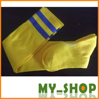 Wholesale 7Colors Advanced wear soccer stockings club football socks