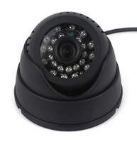 480TVL Indoor CMOS TF Card Digital Video Recorder USB Security Dome Camera Intelligent Detection and 24LED Infrared night vision F2057A