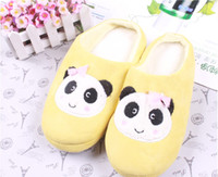 Wholesale Fashion Lovely design Cotton slippers Plush slippers for sweethearts