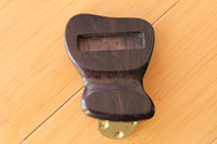 archtop tailpiece - Solid short ebony tailpiece for Jazz archtop guitar