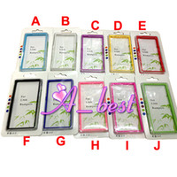 For Sony Ericsson Xperia Z L36H DHL / UPS /Fedex /EMS Fashion TPU Bumper Frame Case For Sony Xperia Z L36H 100Pcs