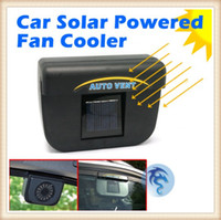 Wholesale Windshield In Car Window Solar Power Cooling Air Ventilation Exhaust Air Vent Cooler Car Fan