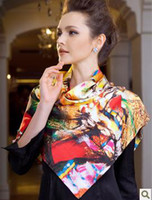 Wholesale The new generation of silk scarves silk ladies wild silk scarf silk shawl female