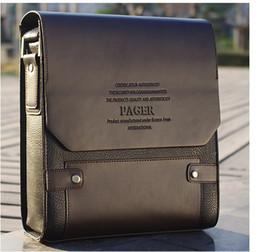 Wholesale 2014 Fashion Man leather bag shoulder handbag messenger vintage commercial bag for mens bags