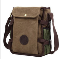Wholesale High Quality Canvas Casual Messenger Bags Vintage Men s Briefcase Man Laptop Ba
