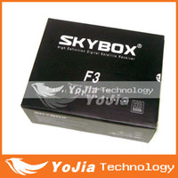 Wholesale 10pcs Original Skybox F3 pi Full HD Satellite Receiver cccamd newcamd MGcamd youtube youporn