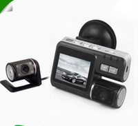 Wholesale car dvr HD P Dual Lens Dashboard Car vehicle Camera Video Recorder DVR CAM G sensor