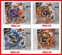 Wholesale 2013 newest Styles Beyblade ZERO G Metal D Beyblades Kids Toys spinning top metal beyblade BBG