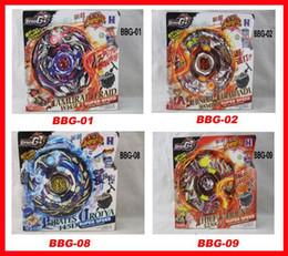 Wholesale 2013 newest Styles Beyblade ZERO G Metal D Beyblades Kids Toys spinning top metal beyblade BBG
