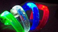 Halloween strapping tape - New Soft tape fragrance flash Bracelet fluorescent bracelet LED Flashing Bracelet hand strap