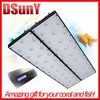 Wholesale DSUNY smart led aquarium lighting with price Daisy chain ft ft w