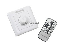 Wholesale GHJB753 V V V V W A IR Knob triac LED dimmer switch for E27 GU10 dimmable spot ligh