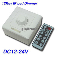 Wholesale GHJB754 IR Dimmer Switch DC12 V Channel Led Dimmer Controller with Keys Remote