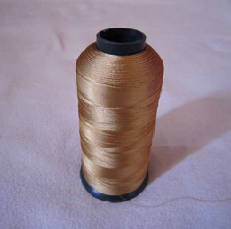 Wholesale 3000m Shiny Metallic machine computer embroidery thread candy colors t5183