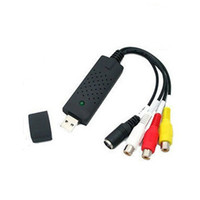 Wholesale VHS Easycap USB Video TV DVD Capture Adapter with USB Cable High Quality