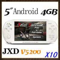 Wholesale 10PCS quot WIFI Touch Screen Android Game Player Tablet PC JXD V5200 game console