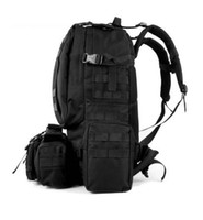 Wholesale 50L outdoor shoulder backpacks tactical mountain bags multi function pc