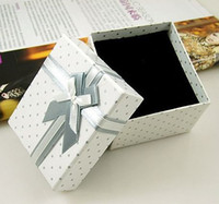 Wholesale The Korea Style Paper Jewerly Box Small Display Boxes Jewelry Packing Gift Boxes H