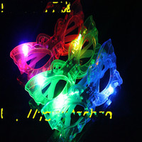 Wholesale Butterfly flash light emitting glasses glasses party mask light emitting toys LED Glasses creative toys