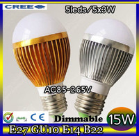 Wholesale led Bubble Ball Bulb globe bulb Factory diectly sale E27 GU10 B22 E14 W AC85 V led Globe Light Bulb Lamp Lighting