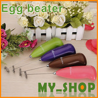 Wholesale Environmental protection stainless steel hand electric egg beater blender JJ0121