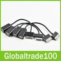 Wholesale USB Host OTG Adapter Cable Cord For Samsung Galaxy Tab quot GT P3113 P5100 Free DHL