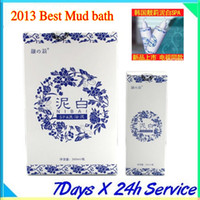 Wholesale LiangLi NiBai Mud bath shower gel whitening cleanser LiangLi NiBai Jeju Lahar can change your skin in min shampoo and shower gel