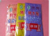Wholesale Extra large Disposable PE Raincoat Rainwear Travel Rian Coat Poncho