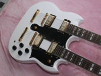 Cheap Free Shipping New Arrival Custom Double Neck Electric Guitar Wolesale From China B0013