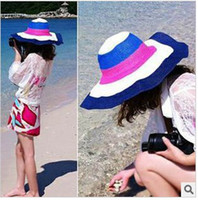 Wholesale girl hat beach hat sun hat dandys