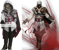 assassin's creed costume kids - Assassin s Creed Cosplay Costume Custom Made Ezio Kids Cheap Party New Cosplay Outfit Full Set Halloween gift Hero