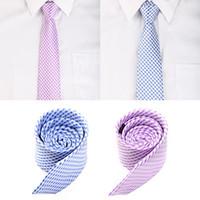 Neck Tie men's ties - Classic Polyester Men s Neck Tie Stripe Jacquard Wedding Groom Party Necktie GA4005