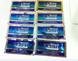 Wholesale Crest D White Teeth Whitening WhiteEstrips Professional Effects pouches strips pouches box Via EMS