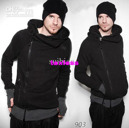 Wholesale New England Men Korean Cardigan Slim Hooded Long sleeve Winter W06