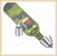 wine cork - Stainless Steel Sanding Wine Red Wine Bottle Cork Plugger Wine bottle plug Stopper On Off Switch
