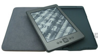 For Amazon kindle 4/5 amazon led lights - top quality LED Lighted Leather Kindle Cover for amazon kindle kindle case
