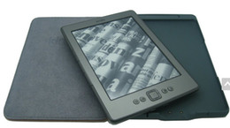 Wholesale top quality LED Lighted Leather Kindle Cover for amazon kindle kindle case
