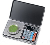 Wholesale 20PCS g g Newest Digital Pocket Scale With LCD Display Jewelry Scale DHL