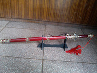 Wholesale Wudang martial arts sword with red scabbard