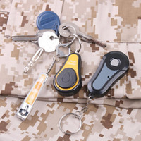 Wholesale Electronic Key Finder Anti Lost Alarm Keychain anti thief anti burglar alarm device for pet child key cellphone