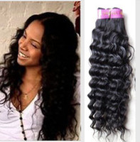Wholesale MIX length12 quot quot B virgin brazilian hair weave remy human hair weave weft deep wave