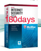 Wholesale NEW genuine key McAfee Internet Security PC User Months days half year activation code