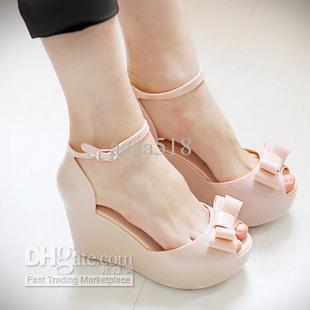 flat pvc sandals women shoes jelly sandals 1