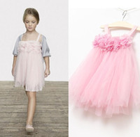 Wholesale Wholesales summer new Baby Kids Clothing Children s girls skirts dance chiffon lace top jumper tutu dress JO