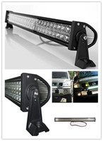 Wholesale 31 quot W LED off road light bar LED SPOT LIGHT Work Light fog LIGHT WD BOAT TRUCK driving light bar